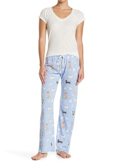 PJ Salvage Daisy Dreamer Puppy Knit Pants