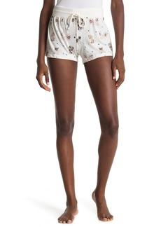 PJ Salvage Dog Drawstring Pajama Shorts