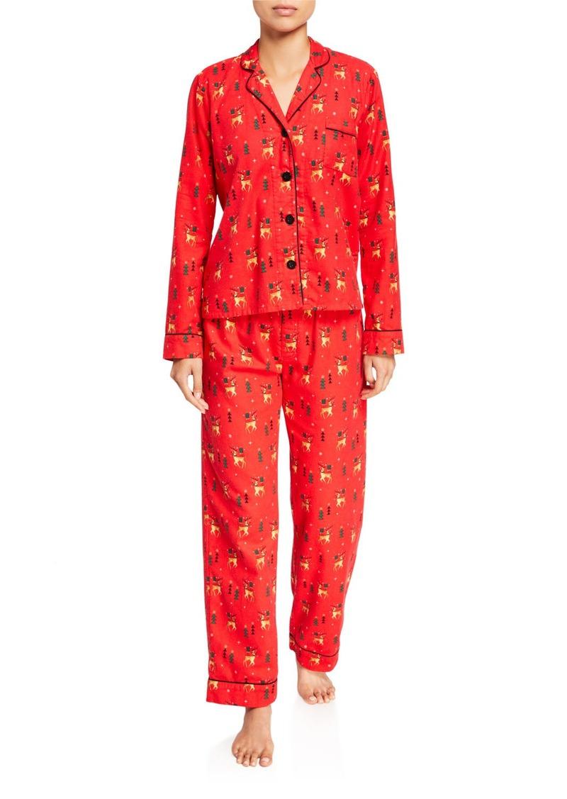 PJ Salvage Oh Deer Classic Pajama Set