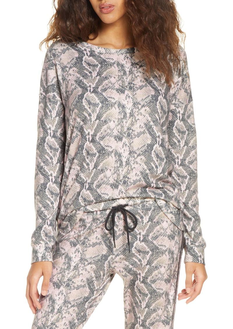 PJ Salvage Animal Print Pajama Top
