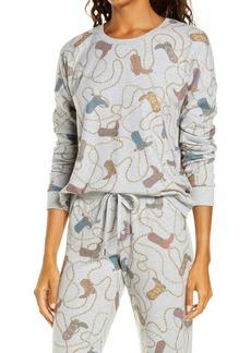 PJ Salvage Boot Print Pajama Top