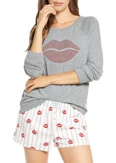 PJ Salvage P.J. Salvage Coffee is Life Flannel Boxer Pajamas