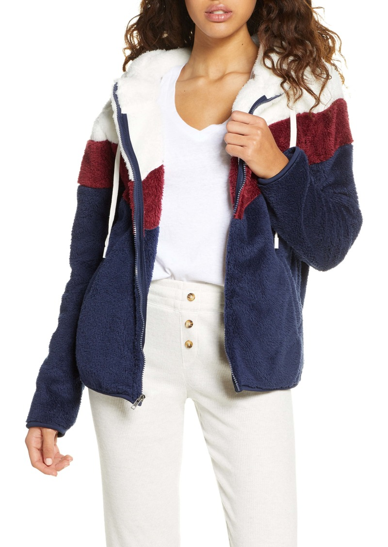 PJ Salvage Cool & Cozy Faux Fur Jacket