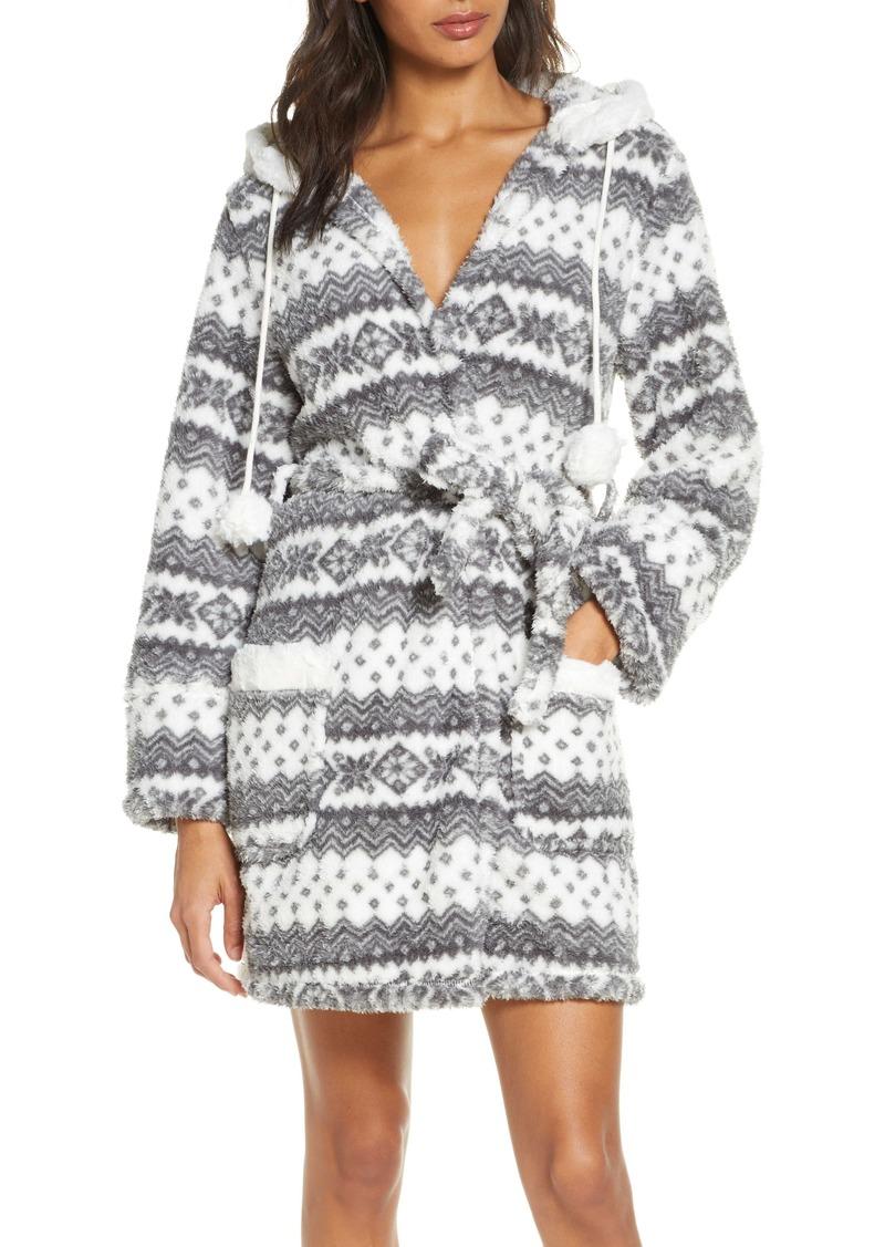 PJ Salvage Cozy Short Robe