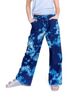 PJ Salvage Famous Tie Dye Chambray Pants