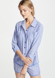 PJ Salvage Feelin' Blue PJ Shirt
