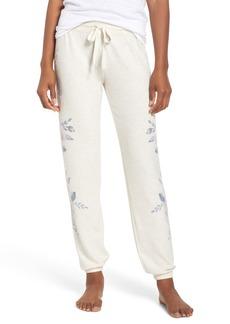 PJ Salvage Floral Print Jogger Pants