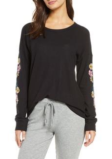 PJ Salvage Floral Sleeve Top