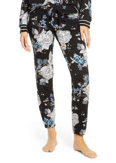 PJ Salvage Flower Print Lounge Jogger Pants