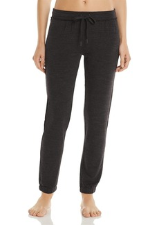 PJ Salvage French Terry Raw-Edge Pants