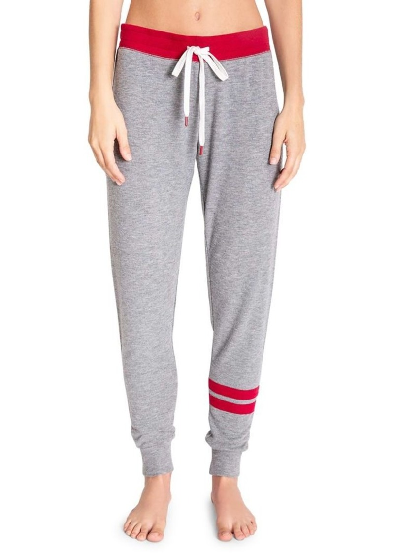 Pj Salvage Heathered Drawstring Jogger Pants