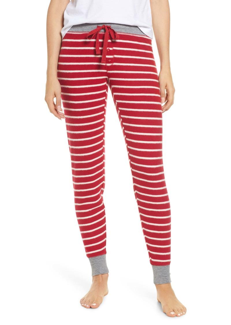 PJ Salvage Jam Stripe Lounge Jogger Pants