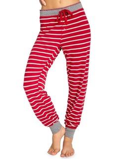 Pj Salvage Joyful Heart Striped Pants