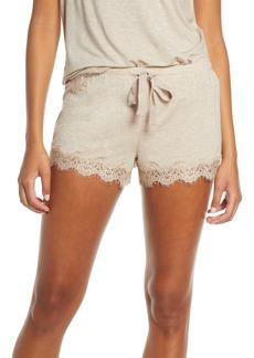 PJ Salvage Lace Trim Shorts