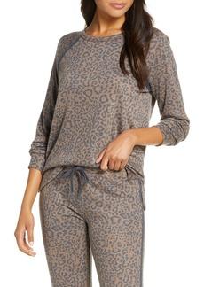 PJ Salvage Leo Sport Long Sleeve Pajama Top