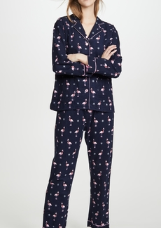 PJ Salvage Let's Flamingo Flannel PJ Set