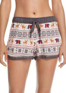PJ Salvage Mountains Calling Pajama Shorts