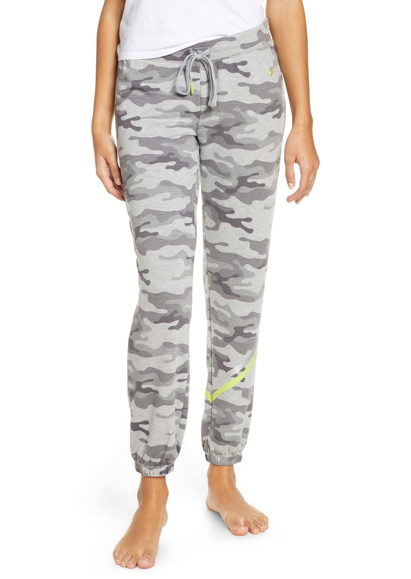 PJ Salvage Neon Pop Camo Joggers