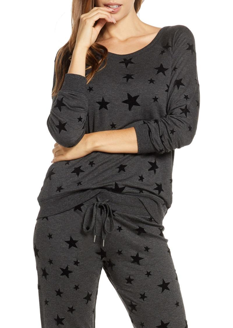 PJ Salvage Night Sky Long Sleeve Pajama Top