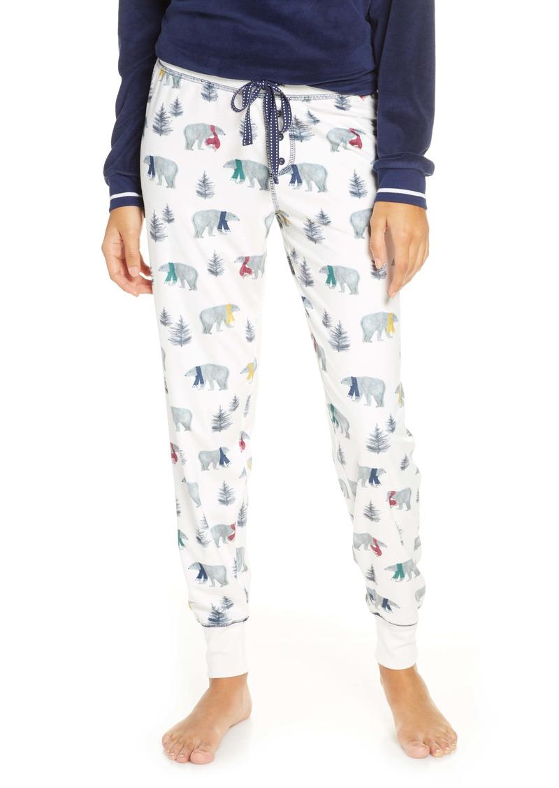 PJ Salvage Oh My Velour Pajama Pants