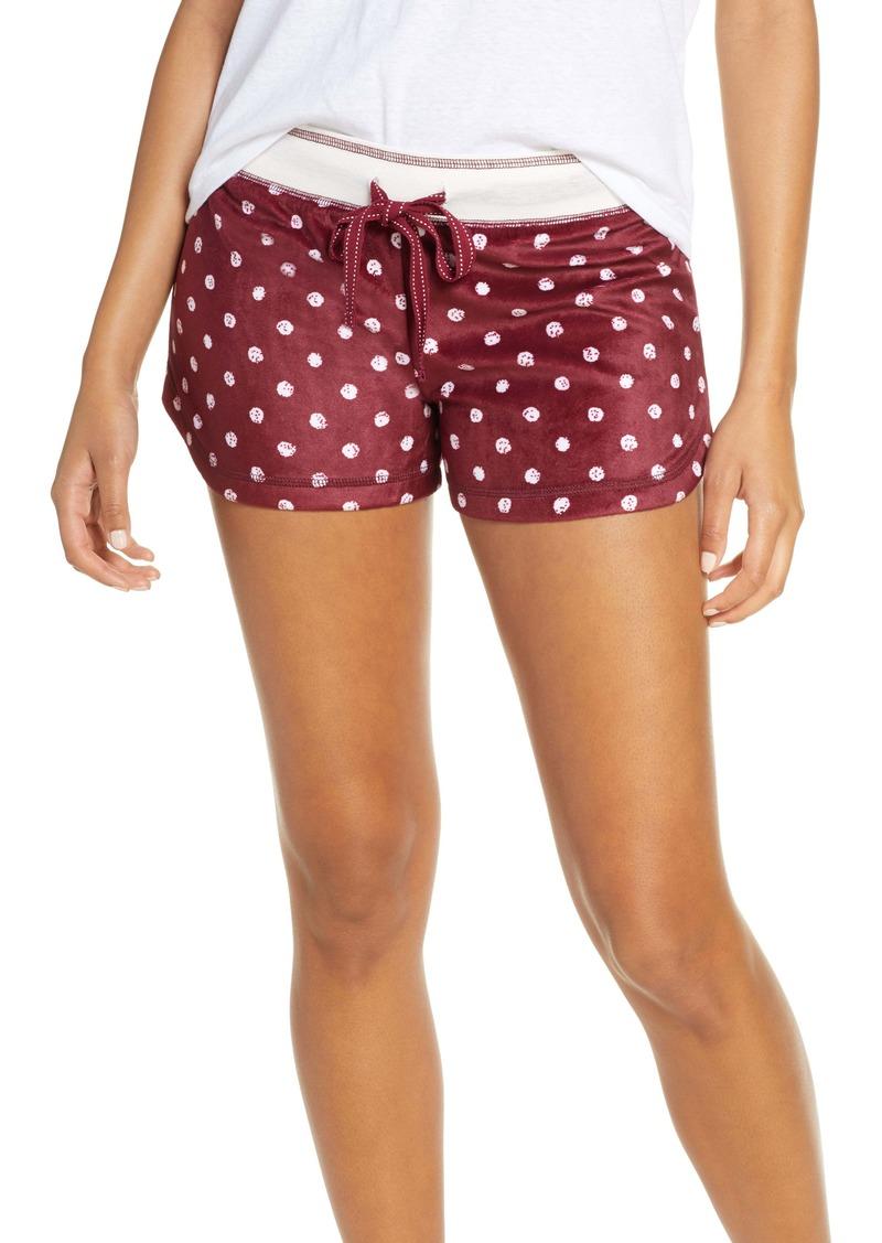 PJ Salvage Oh My Velour Shorts