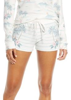 PJ Salvage Paradise Dream Stripe Pajama Shorts