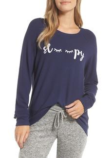 PJ Salvage Peachy Jersey Pajama Top