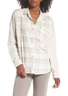PJ Salvage Plaid Shirt