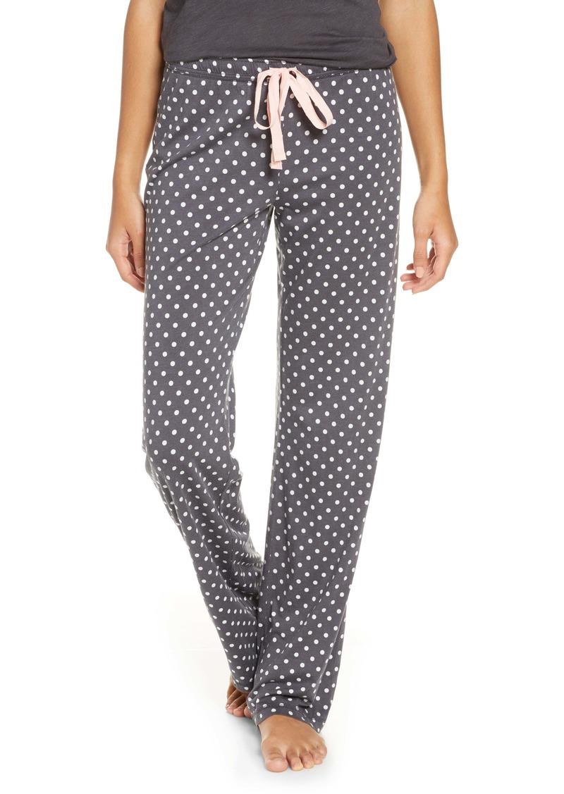 PJ Salvage Polka Dot Pajama Pants
