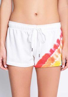 PJ Salvage Rainbow Striped Sleep Shorts