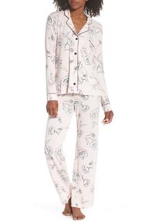 PJ Salvage Shadow Floral Pajamas