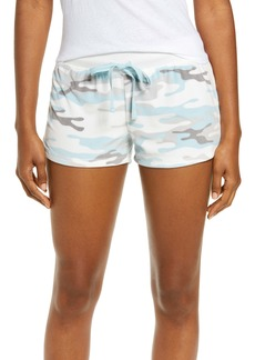 PJ Salvage Silky Velour Jam Lounge Shorts
