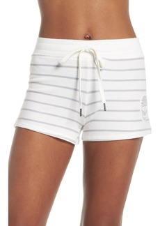 PJ Salvage Skull Stripe Lounge Shorts