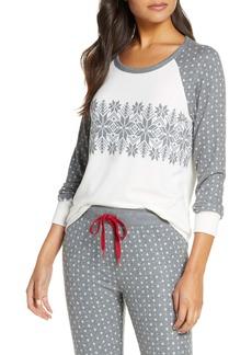 PJ Salvage Snowed In Pajama Top