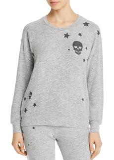 PJ Salvage Stars and Skulls Long-Sleeve Top