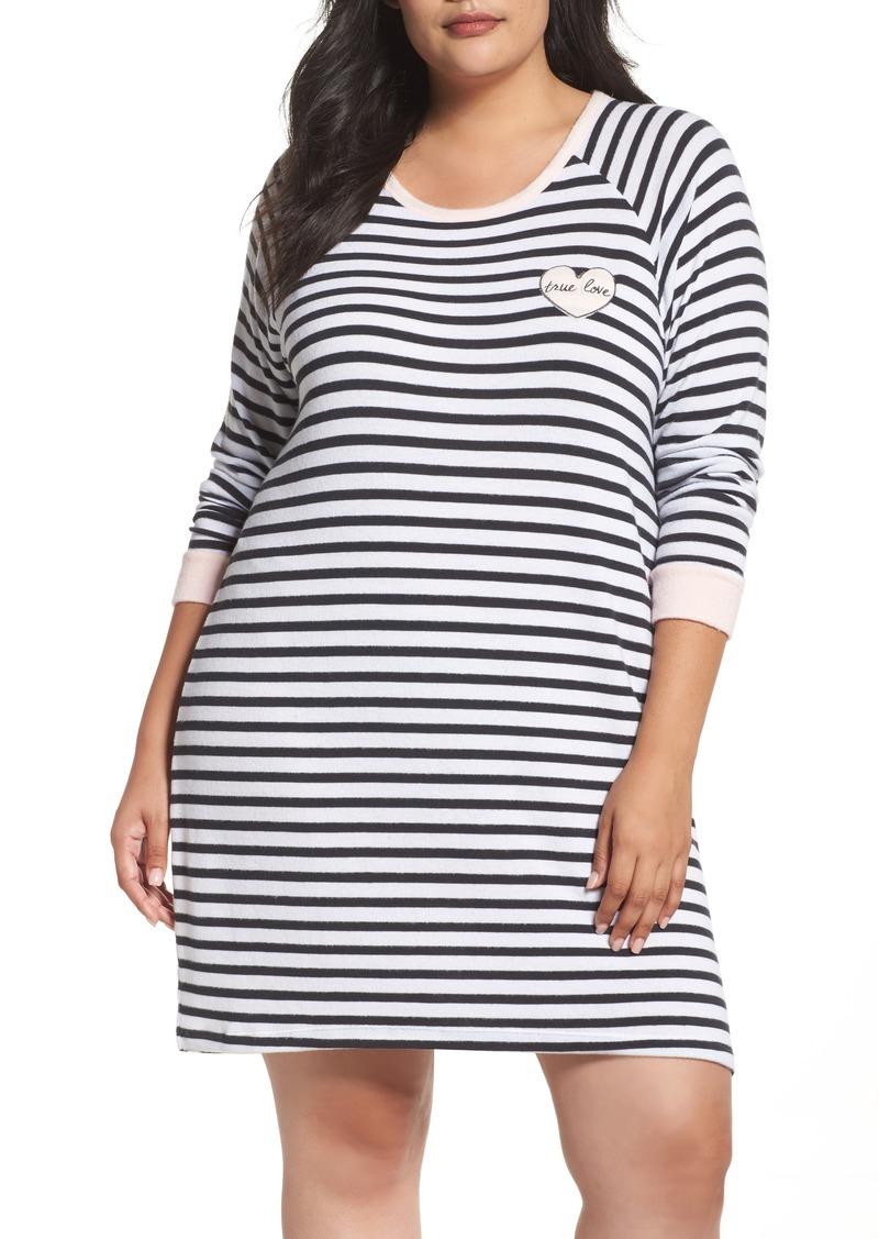 b0262bfd76 PJ Salvage PJ Salvage Stripe Peachy Jersey Nightshirt