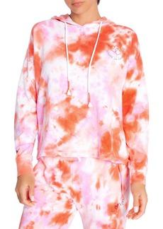 PJ Salvage Tie Dye Embroidered Hoodie