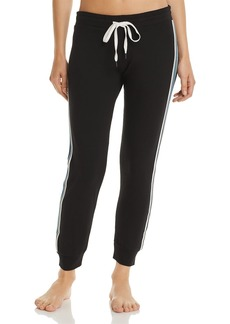 PJ Salvage Track Star Striped Fleece Pants
