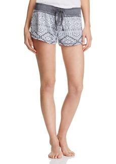 PJ Salvage Tribal Print Shorts