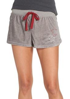 PJ Salvage Velour Pajama Shorts