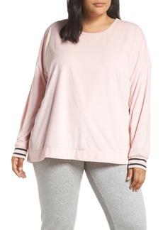PJ Salvage Velour Pajama Top (Plus Size)