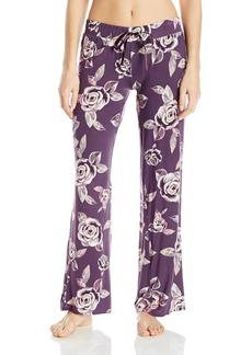PJ Salvage Women's Bella Lounge Rose Print Pant  XS