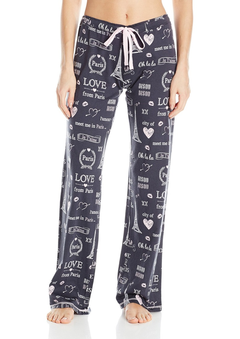 PJ Salvage Women's City of Love Lounge Pant  XL