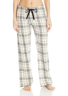 PJ Salvage Women's Classically Cool Plaid Pant  XL