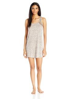 PJ Salvage Women's Coco Chic Animal Print Nightgown  XL