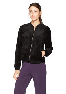 PJ Salvage Women's Cozy Bomber Jacket  M