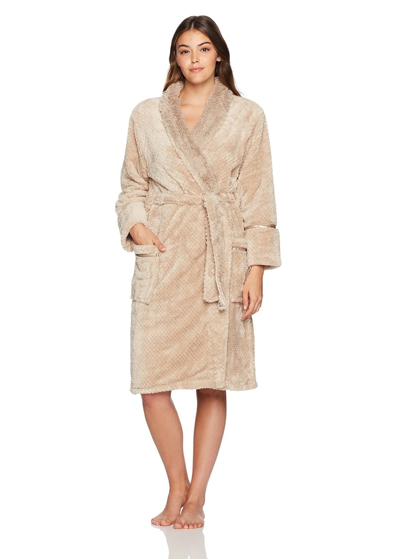 PJ Salvage Women's Cozy Plush Bath Robe