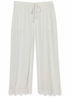 PJ Salvage Women's Cropped Pant  L