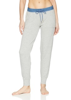 PJ Salvage Women's Denim Blues Jogger Pant  S