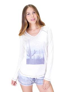 PJ Salvage Women's Desert Dream Long Sleeve Top